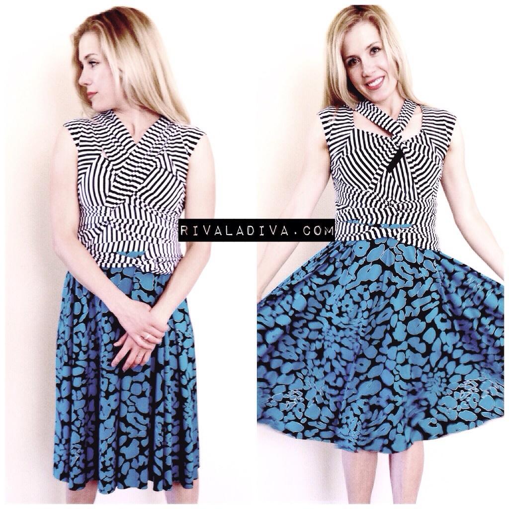 Butterick Wrap Dress - Journey of a Dress