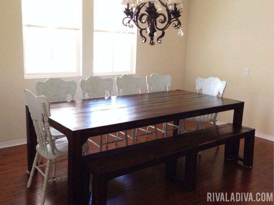 DIY Restoration Hardware Farmhouse Table