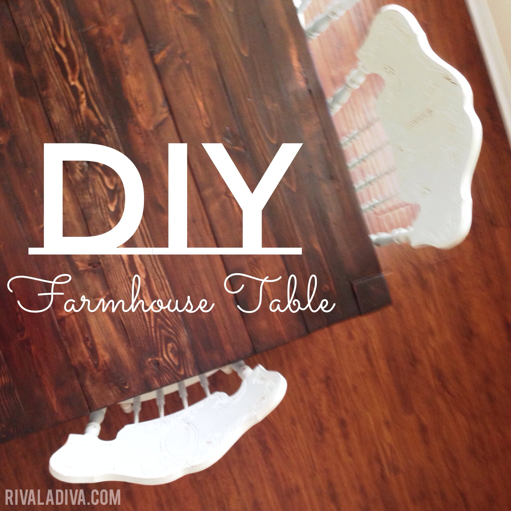 DIY Restoration Hardware Farmhouse Table