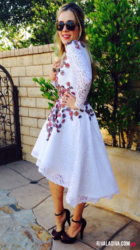 DIY Giambattista Valli Dress, Vogue Patterns