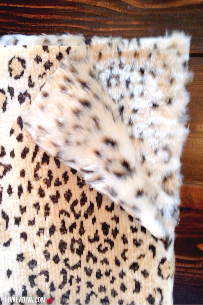 DIY: Pottery Barn's Faux Fur Stocking