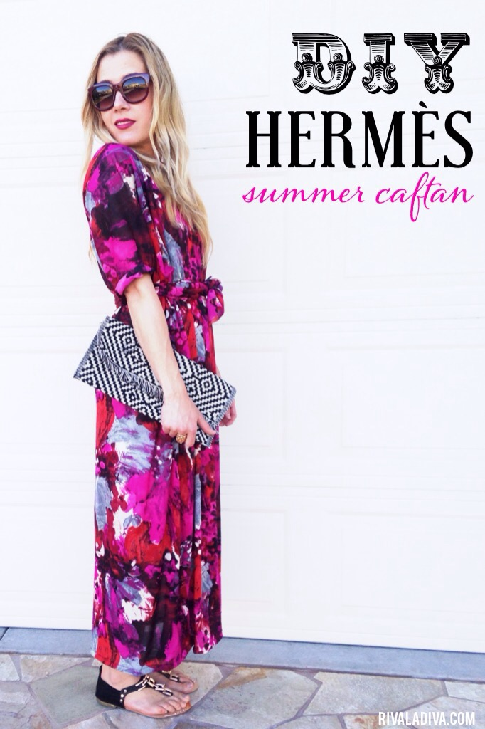 DIY Hermès Summer Caftan Fashion Tutorial