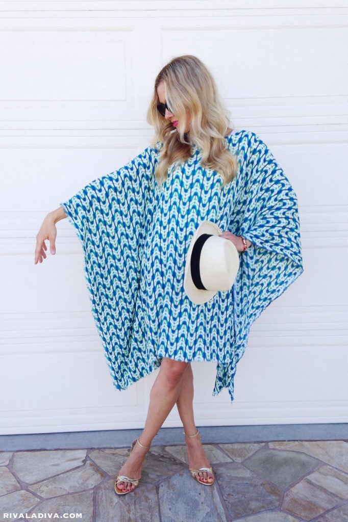 EASY Caftan Dress Tutorial