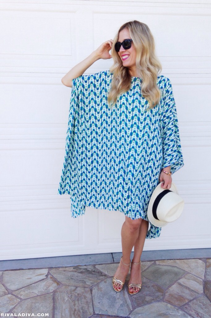 2bd513e0d2b The Perfect Summer Caftan Dress Tutorial - Riva la Diva