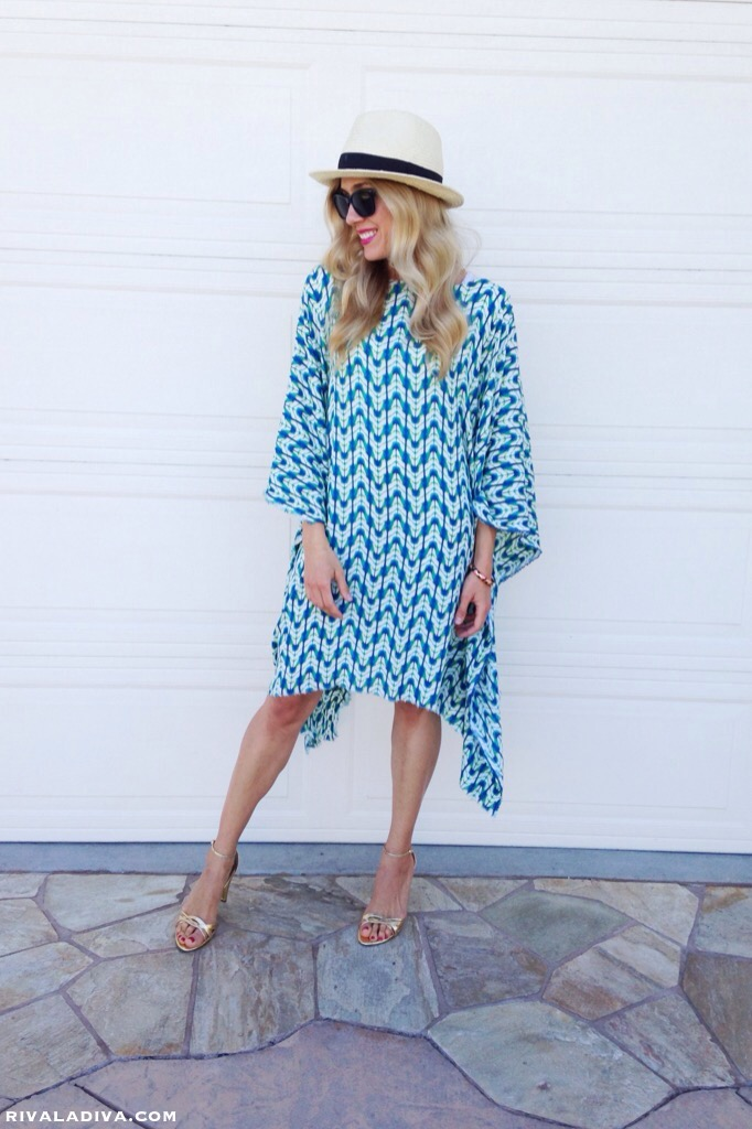 The Perfect Summer Caftan Dress Tutorial - Riva la Diva