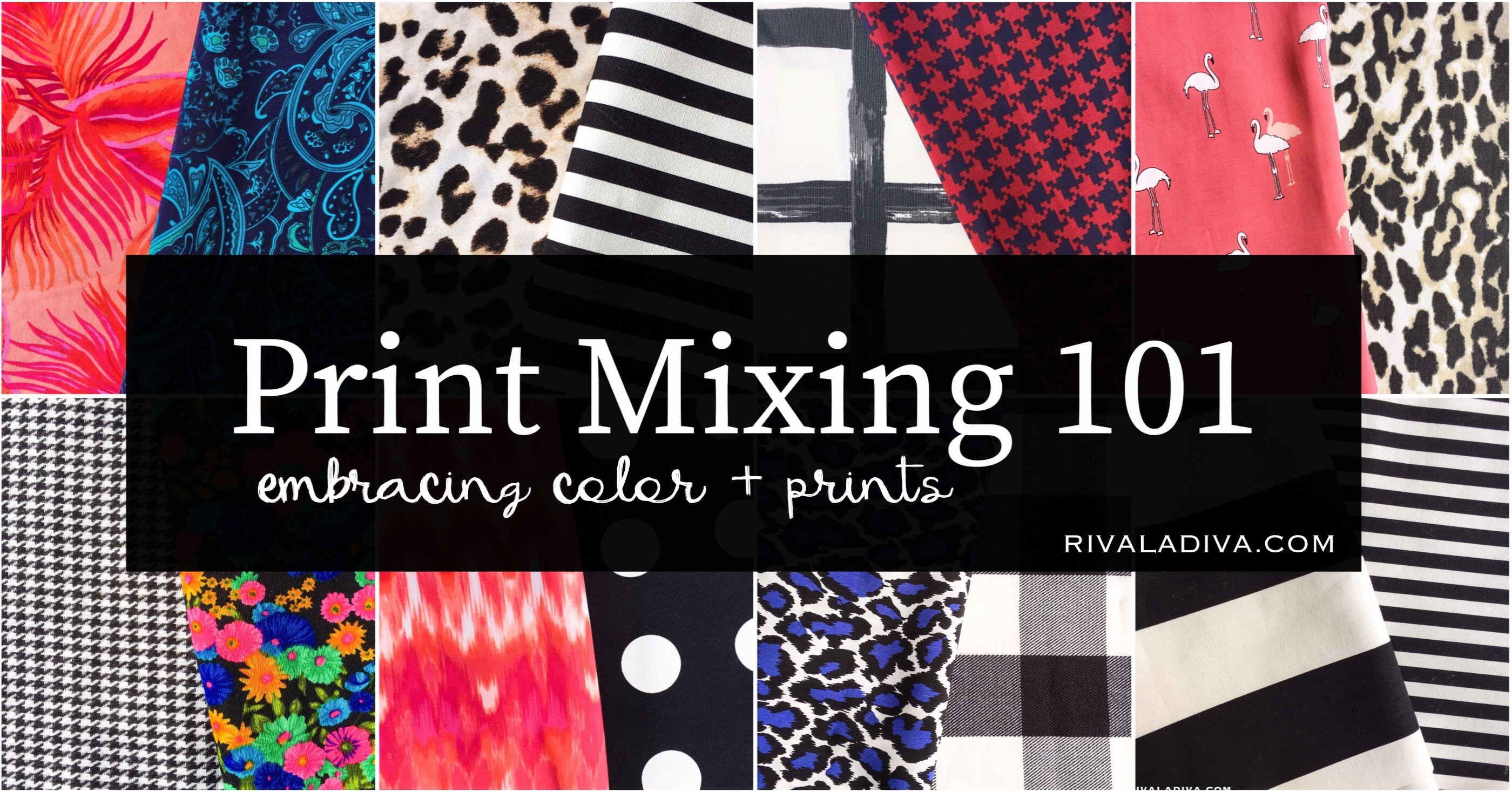 Print Mixing 101 - Embracing Color and Prints