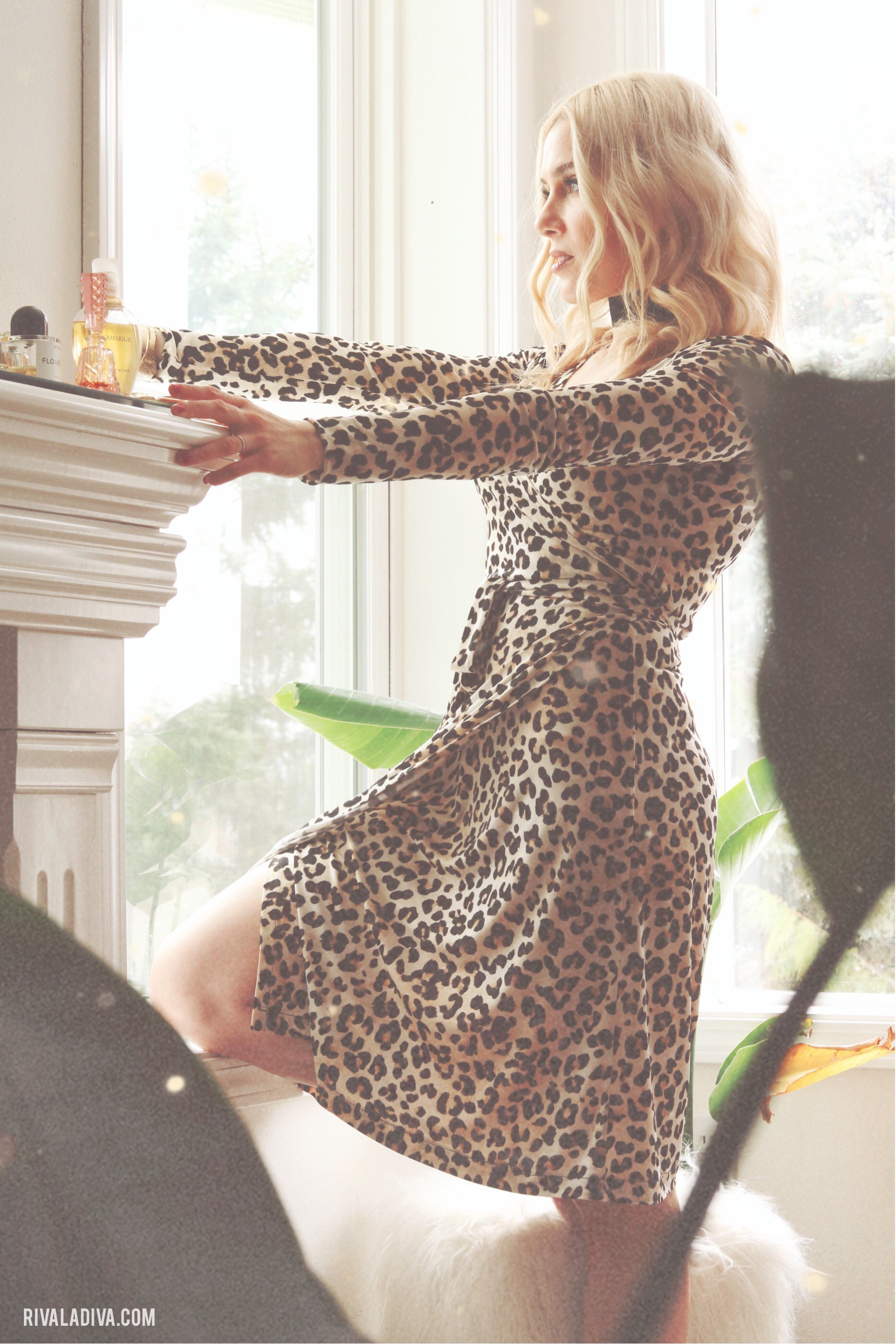Lady in Leopard // Making the Perfect Wrap Dress; DIY Wrap Dress Tutorial