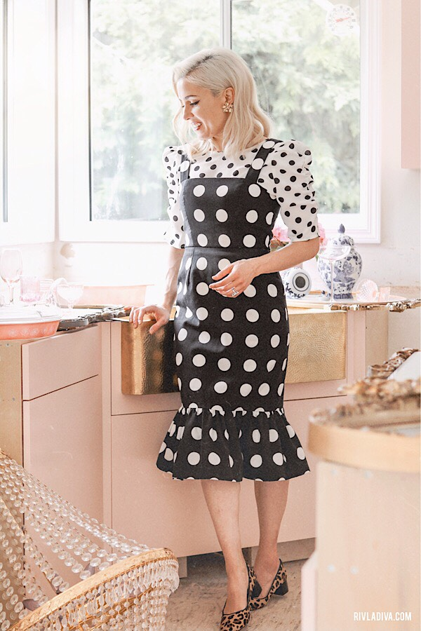 5 Easy Ways to Wear Polka dots with polka dots.