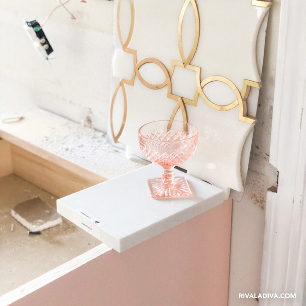 Blush Pink kitchen inspo at RivaLaDiva.com